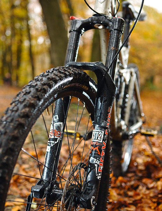 Marzocchi's 55 forks demand hyper speed to get the best out of them