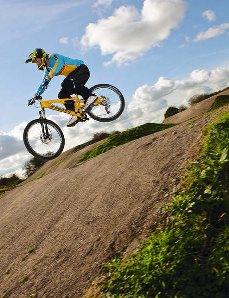 Be aware that BMX track jumping can be pretty addictive!