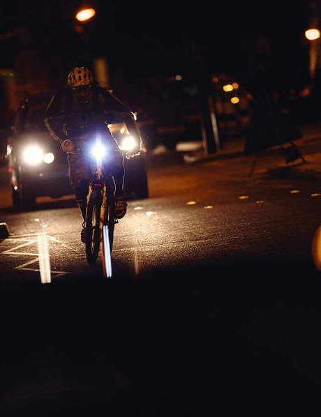 Dark evenings don't have to stop you getting out on your bike