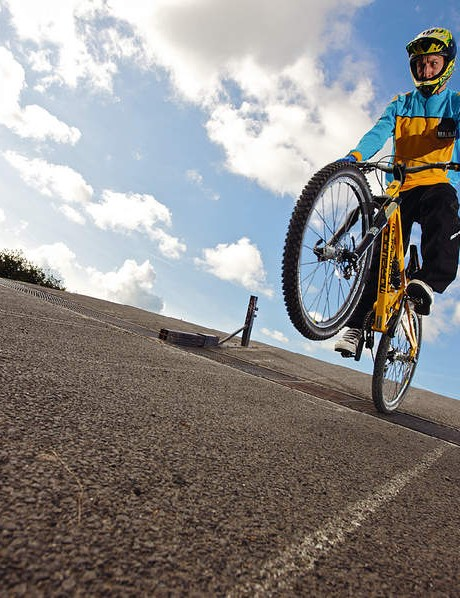 Gate starts are a great way to work on speed and power – most clubs have a regular MTB-friendly session