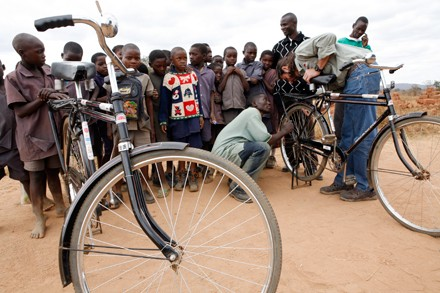 World Bicycle Relief distributes bikes in India and Africa.