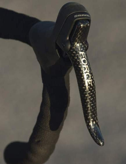 SRAM's Double Tap shifting system feels natural