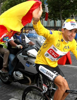 Spaniard Carlos Sastre won the Tour de France, and the hearts of those averse to Cadel Evans' wacky behaviour during July.