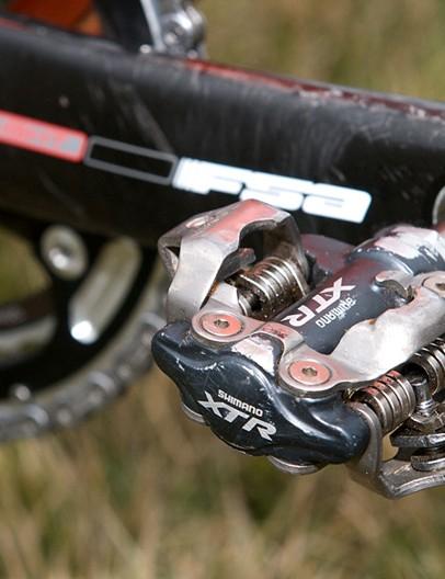 Trebon also taps Shimano for his XTR pedals
