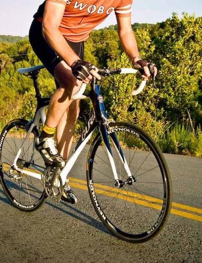 The Montreal-made custom carbon Guru Geneo was my 2008 Bike of the Year.
