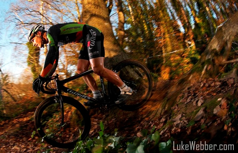 Billy Joe Whenman won the latest round of the London Cyclo-Cross League
