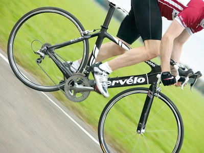 The 2008  Cervelo Soloist SLC-SL, as tested in Cycling Plus magazine.