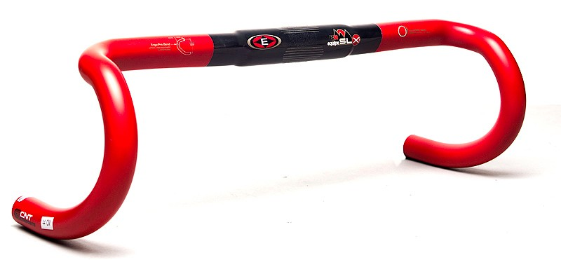 The Easton EC90 Equipe SLX3 handlebar blends some of the best aspects of both traditional and ergonomic-bend bars