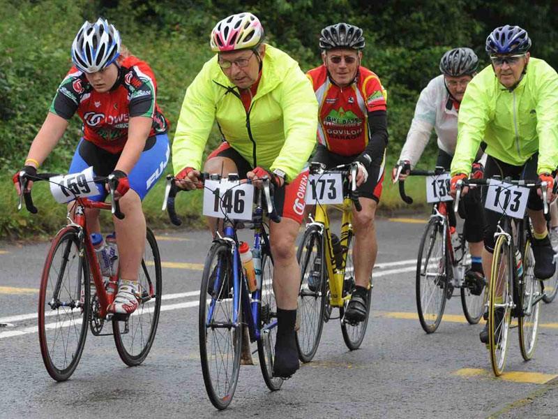 Riders enjoying last year's ride