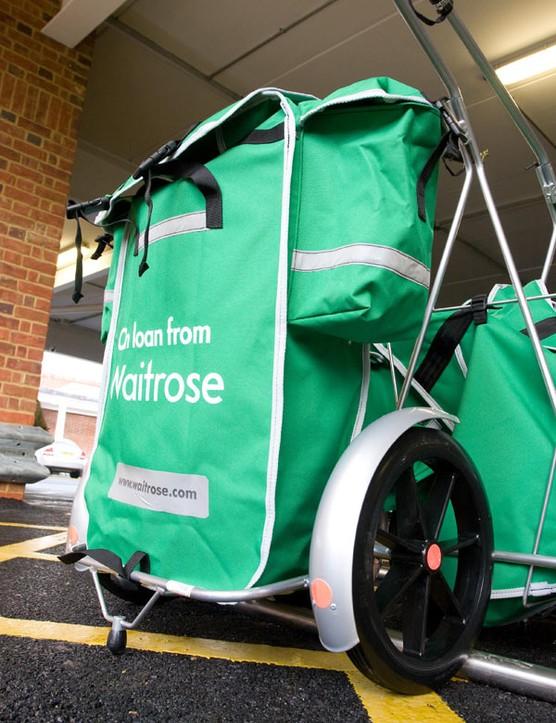 Waitrose launches free bike trailers