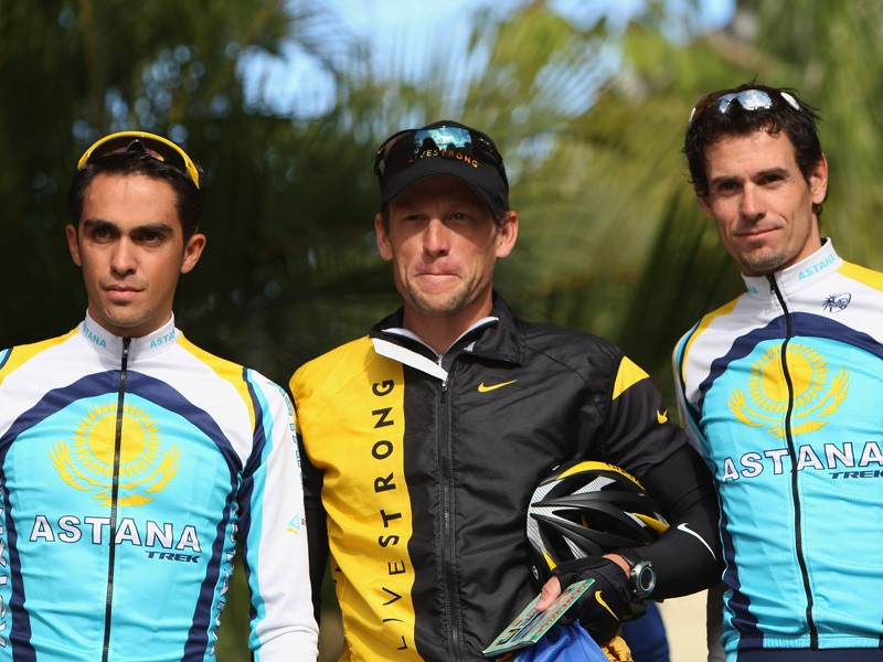With riders like Contador, Armstrong and Kloeden in their ranks, could Astana make a clean sweep of the 2009 Tour de France?