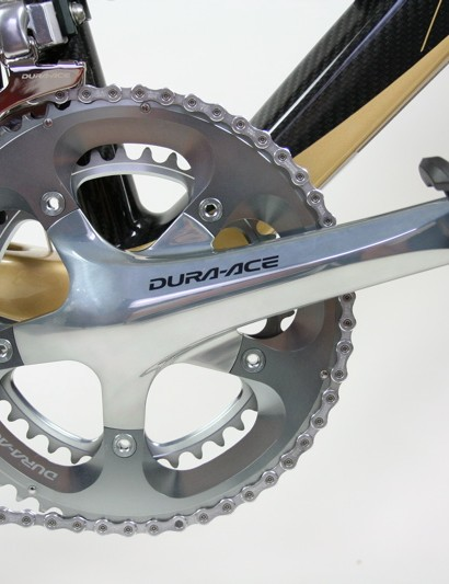 The 7800 Dura-Ace chainset is something of a design classic