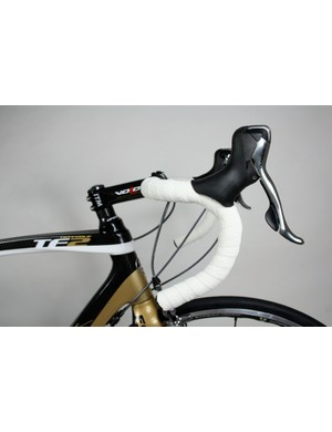 ITM's carbon Volo bars have a gentle anatomic bend