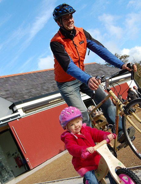 The guide is aimed a both enthusiasts and families