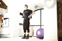 Upright dumbbell rows