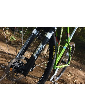 Fine Fox forks, but is 80mm enough travel?