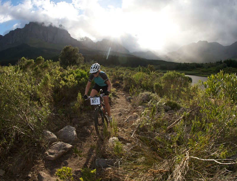 Few international mountain bike race venues can boast the scenic beauty of Jonkershoek, Stellenbosch.