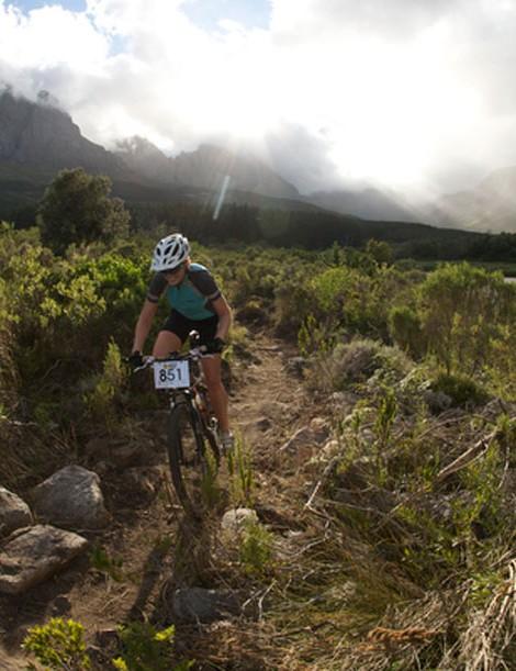 Few international mountain bike race venues can boast the scenic beauty of Jonkershoek, Stellenbosch.