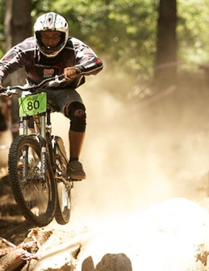 The extreme heat and dust made conditions tougher for the spectators than the riders