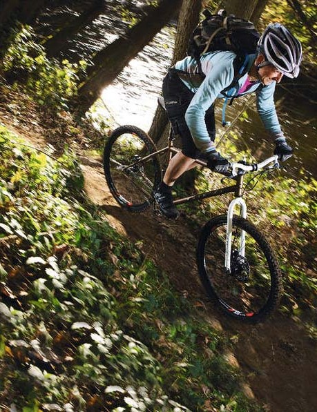 The conventionally 26in iO remains a firm favourite on UK trails