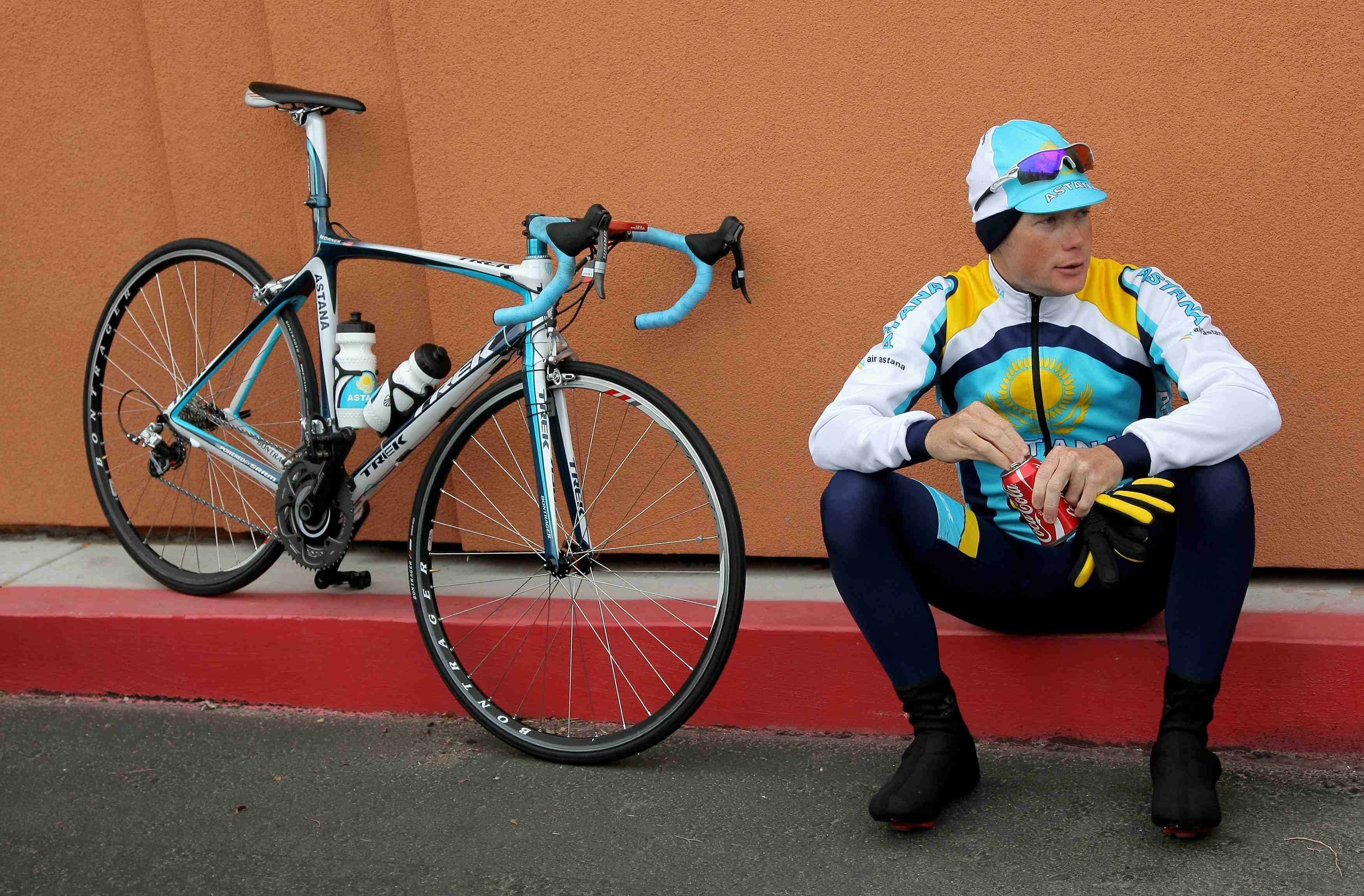 """The 37-year-old Chris Horner is affectionately called """"Redneck"""" by teammate Lance Armstrong."""