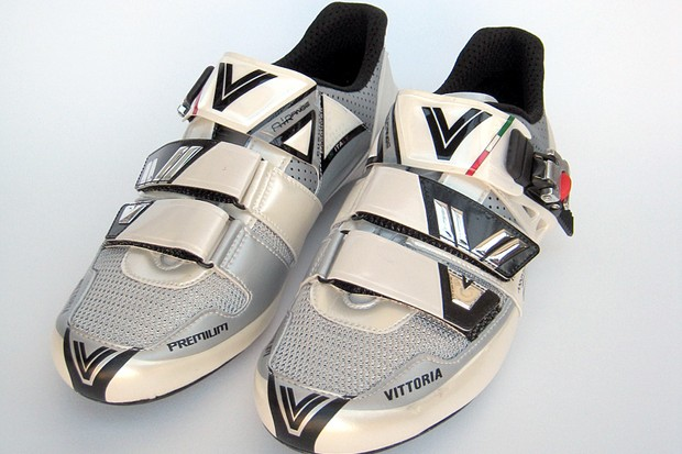 The Vittoria Premium Carbon weighs in at 632g a pair for size 43cm