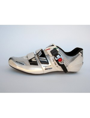 Mesh and perforations go a long way towards keeping the foot cool when riding