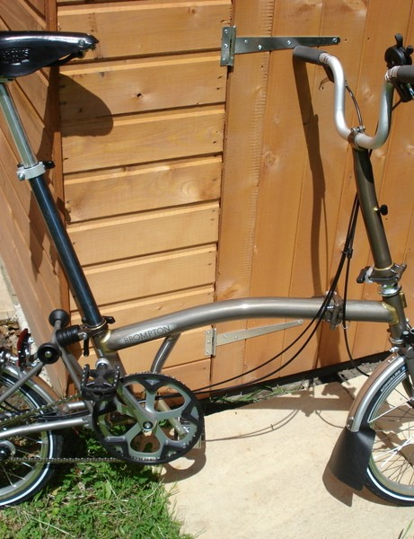 Clever Pun's Brompton
