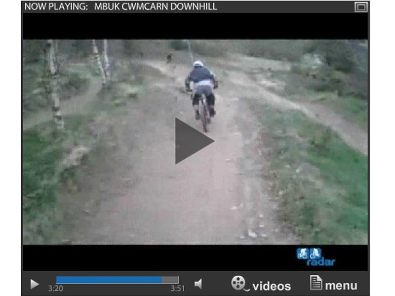 MBUK Cwmcarn downhill