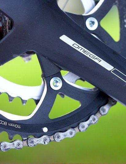 FSA Omega double chainset
