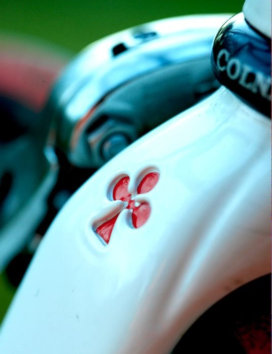 Clover leaf indentations - Quality detailing