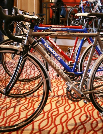 Dawes' second titanium bike, the Sportif Ultra Ti, heads up a three-bike Sportif range