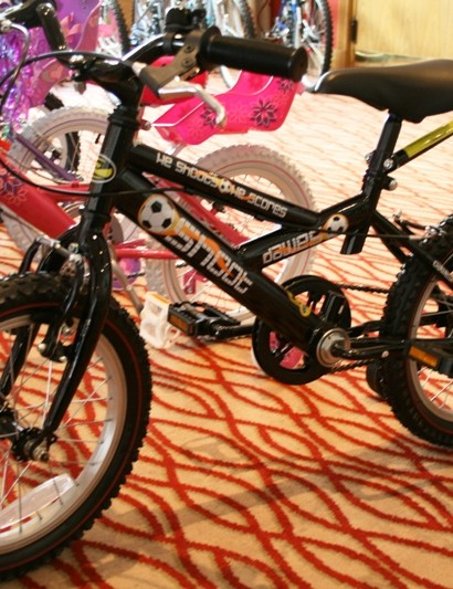 Dawes have a full range of kids' rides too