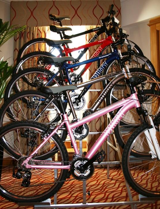 Dirty has a range of hardtail mountain bikes