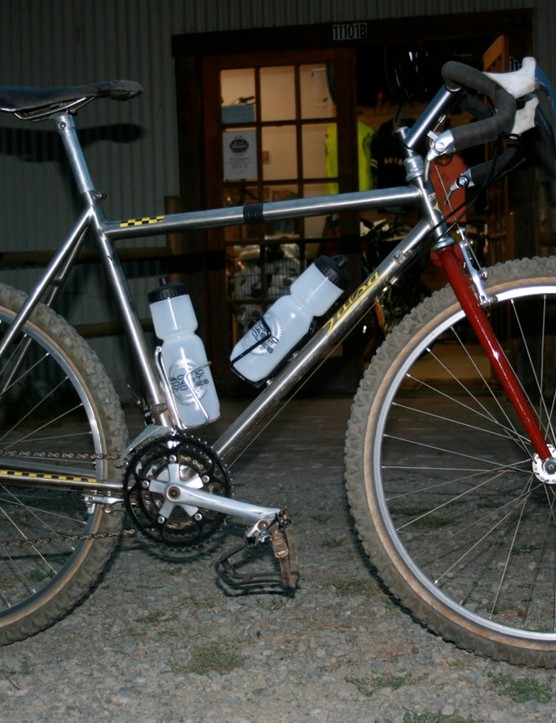 A limited-edition Salsa/Merlin, owned by a friend of Varley's.