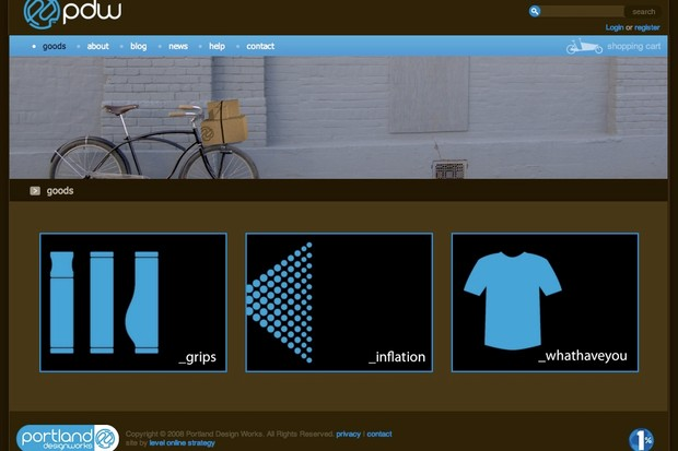 A new company with a focus on urban bicycling, based in Portland.