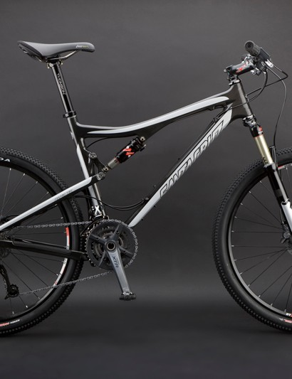 All carbon Blur XC frames will come in a bare carbon finish with either red or silver graphics.