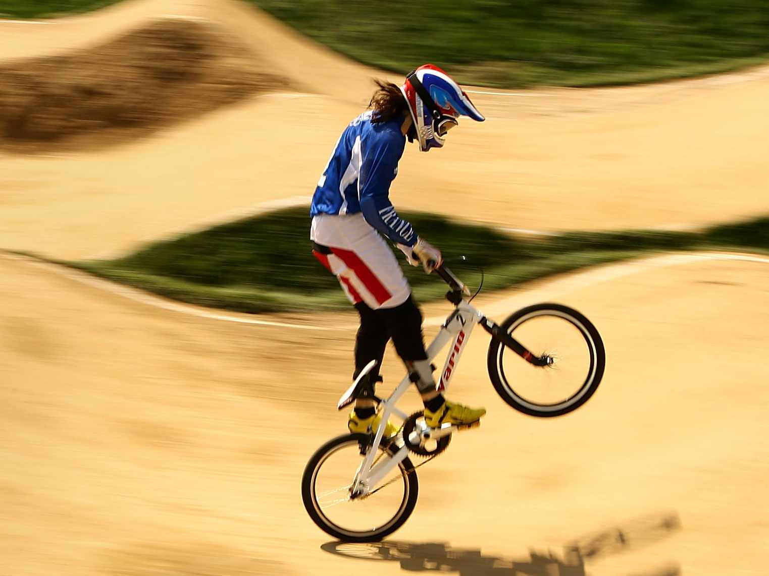 Chippenham Town Council has approved the idea of an Olympic-sized BMX track.