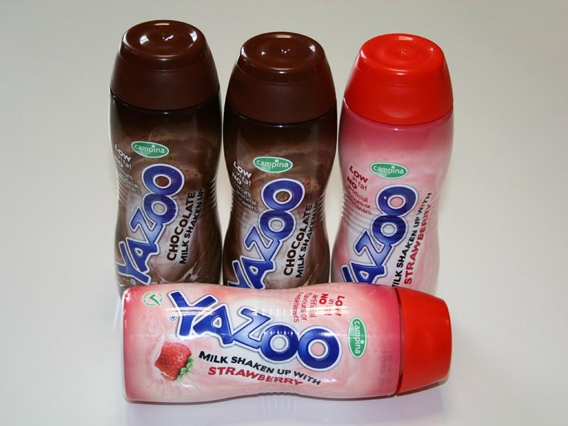 Yazoo milk drinks