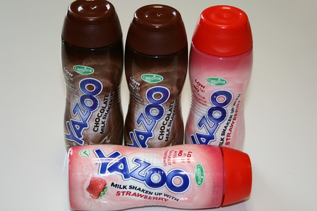 Yazoo milk drinks