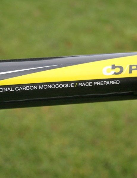 The name's on the top tube