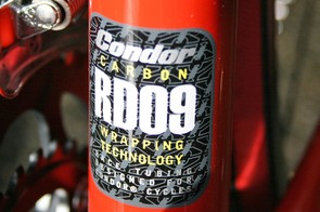 Carbon wrapping seal of approval on the seat tube
