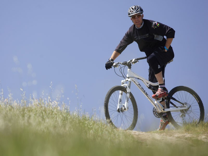 Tomac Bikes is named after racer John Tomac, whose cycling career has spanned 20 years.