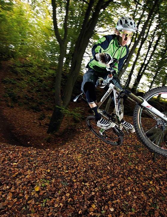 Bombholes, steep slopes and banks provide plenty of training opportunities