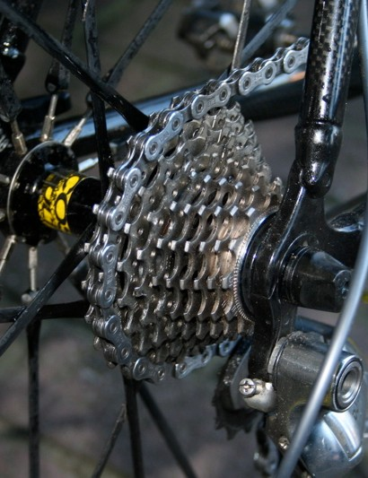 A cassette with a 12-25T range provides a gear for pretty much any situation that 'cross can offer