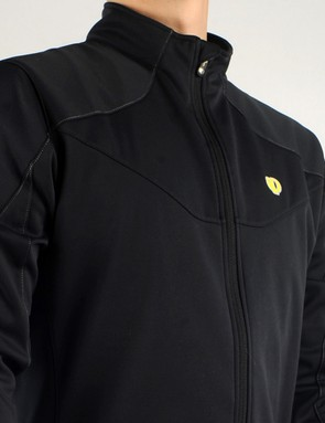 The Gavia PRO jacket uses AmFIB laminate fabrics throughout  plus a DWR coating for surprising warmth and water protection given its relative light weight