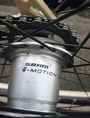 SRAM 3 Speed hub-gear with coaster brake