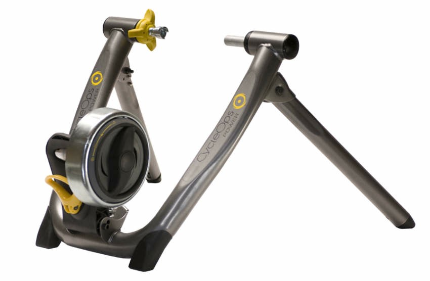 The CycleOps Supermagneto Pro trainer.