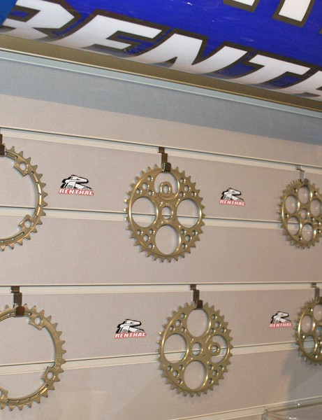 Renthal's motocross-style chainrings