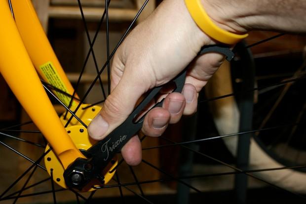 The Pedro's Trixie fixie tool.